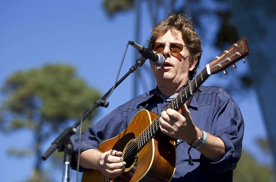 Tim O'Brien plays the Banjo Stage during a tribute to Warren Hellman, Earl Scruggs and Doc Watson at Hardly Strictly Bluegrass in Golden Gate Park in San Francisco, Calf., on Saturday, October 6, 2012. Photo: Laura Morton, Special To The Chronicle