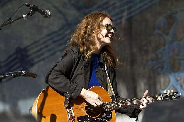 Patty Griffin performs on the Rooster Stage at Hardly Strictly Bluegrass in Golden Gate Park in San Francisco, Calf., on Saturday, October 6, 2012. Photo: Laura Morton, Special To The Chronicle