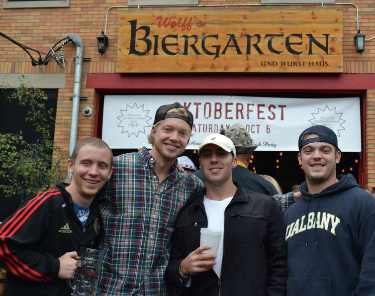 Were you Seen celebrating Oktoberfest at Wolff's Biergarten in Albany on Saturday, October 6, 2012