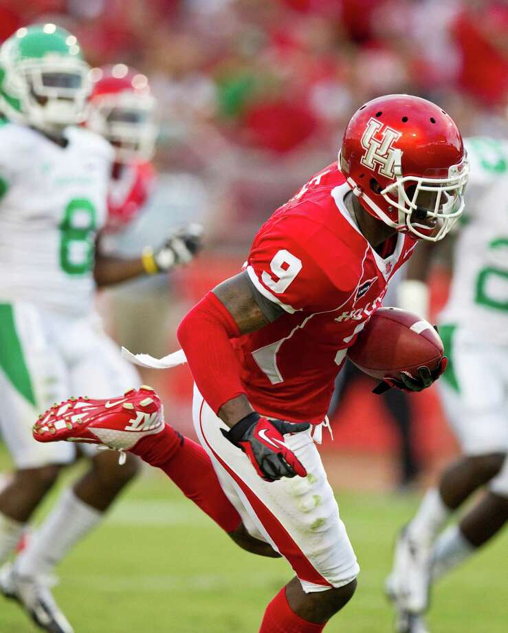 UH will be without its leading receiver from 2012 in the university's first season in the American Athletic Conference. Photo: Nick De La Torre, Associated Press / Houston Chronicle