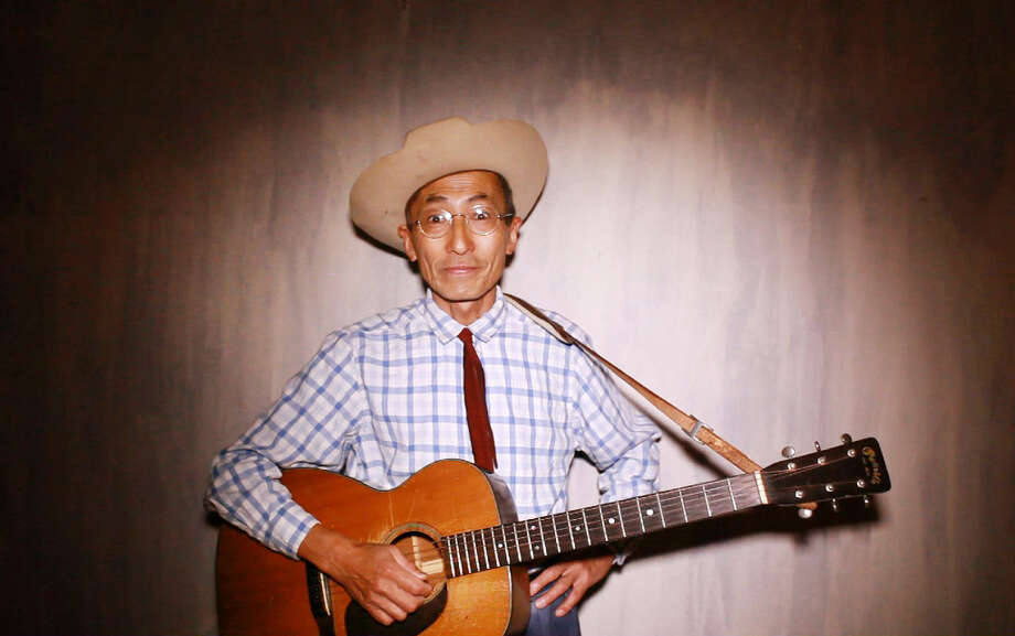Toshio Hirano has been yodeling the works of Jimmie Rodgers for 40 years. Photo: Mike Kepka, The Chronicle / ONLINE_YES