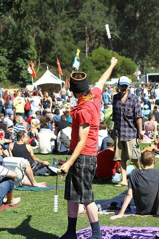 A fan at the dances at Hardly Strictly Bluegrass in Golden Gate Park in San Francisco, CA on October 6, 2012. Photo: Clint Wirtanen, The Chronicle