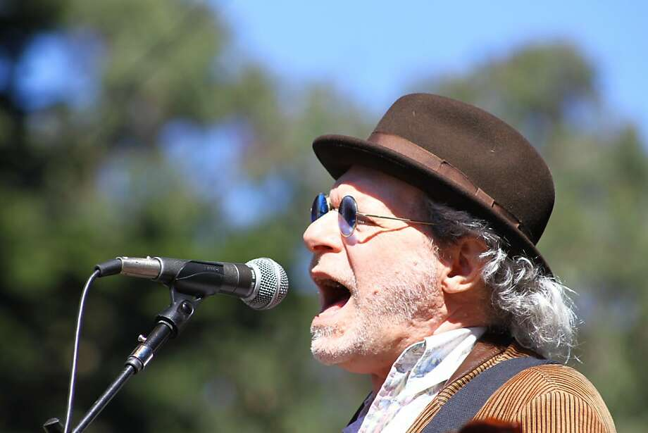Buddy Miller performs at the second day of Hardly Strictly Bluegrass in Golden Gate Park in San Francisco, CA on October 6, 2012. Photo: Clint Wirtanen, The Chronicle