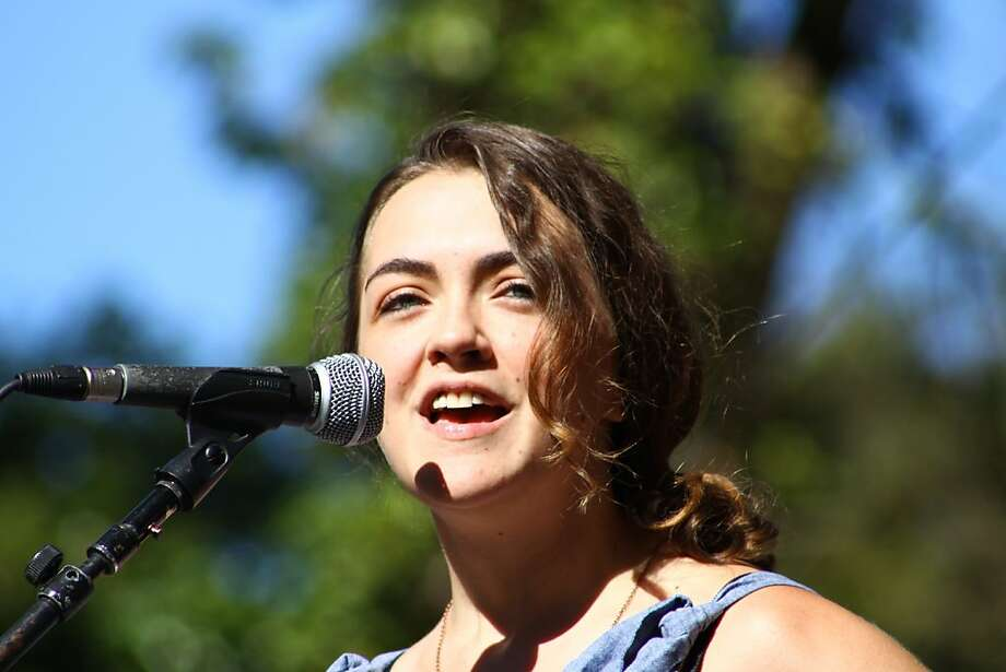 Neyla Pekarek of the Lumineers performs at the second day of Hardly Strictly Bluegrass in Golden Gate Park in San Francisco, CA on October 6, 2012. Photo: Clint Wirtanen, The Chronicle