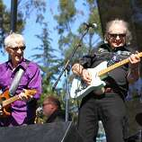 Bill Kirchen (left) performs at the second day of Hardly Strictly Bluegrass in Golden Gate Park in San Francisco, CA on October 6, 2012.