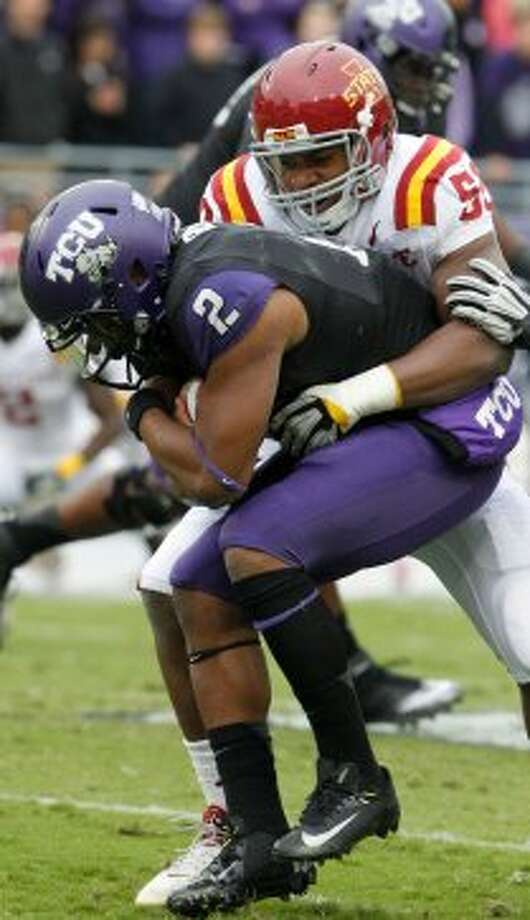 3. TCU (4-1, next week @ Baylor) — No Casey Pachall meant a tough learning lesson for freshman QB Trevone Boykin against Iowa State and the end of the nation's longest winning streak. (LM Otero / Associated Press)