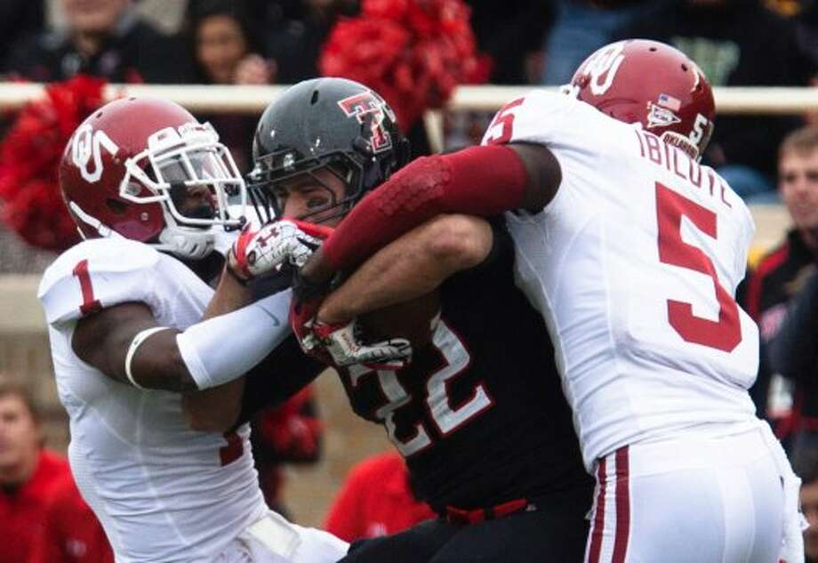 5. Texas Tech (4-1, next week vs. West Virginia) — Red Raiders' ballyhooed defense didn't appear nearly as good against a quality Big 12 offense. Geno Smith is likely licking his chops.(Albert Cesare/The Odessa American / Associated Press)