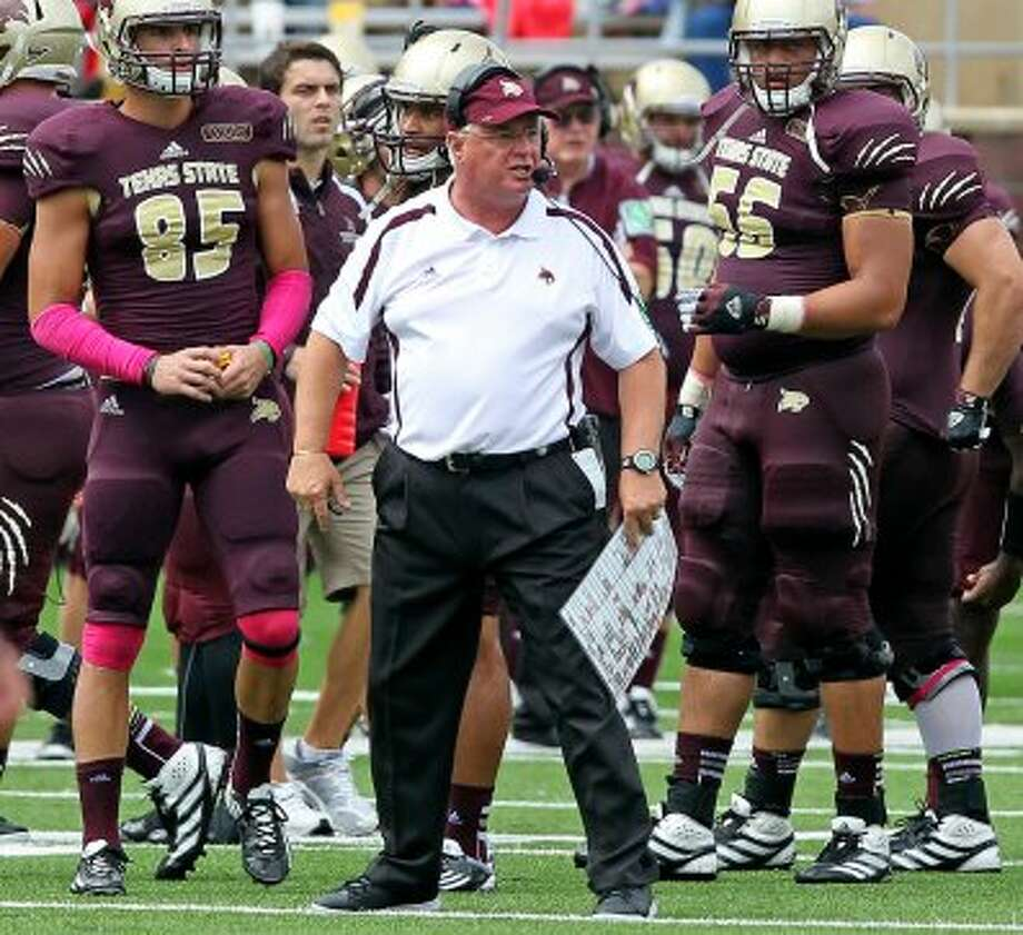 11. Texas State (2-3, next week vs. Idaho) — Unhappy return to New Mexico for Coach Fran after Bobcat defense is trampled for 361 rushing yards, five TDs in loss to Lobos. (San Antonio Express-News)