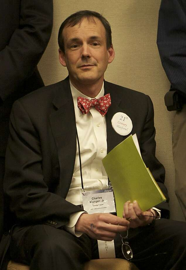 Charles Munger Jr. of Palo Alto is the target of a critical blog dubbed the Munger Games. Photo: Brian Baer, Sacramento Bee