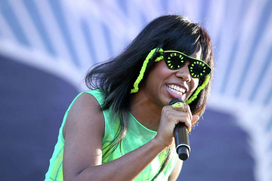 Santigold performs at the 2012 Virgin Mobile FreeFest on Saturday, October 6, 2012 in Columbia, Maryland. (Photo by Paul Morigi / Invision for Virgin Mobile/AP Images) Photo: Paul Morigi, Associated Press / Invision