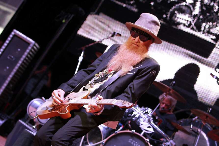 Billy Gibbons of ZZ Top performs at the 2012 Virgin Mobile FreeFest on Saturday, October 6, 2012 in