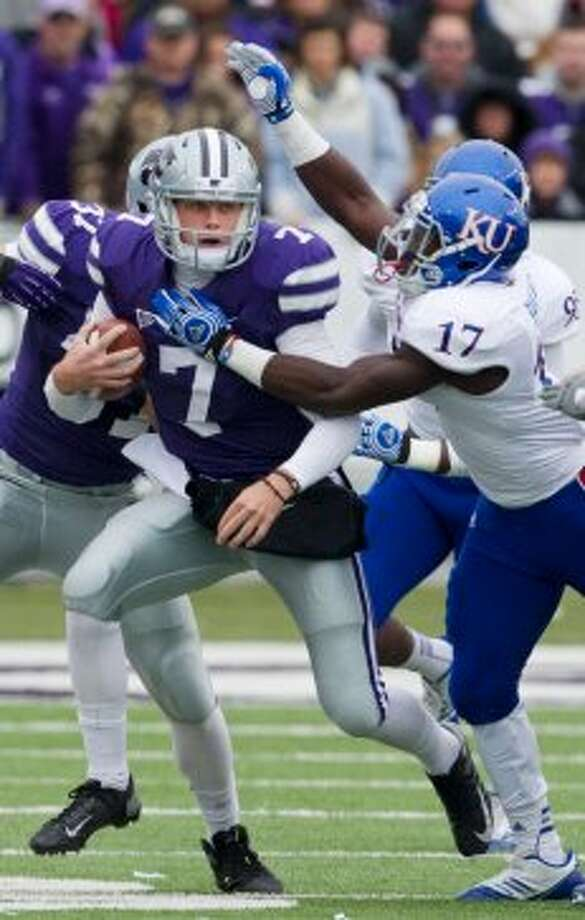 Collin Klein, Kansas State, 10 carries, 116 yards, 2 TDs  (Orlin Wagner / Associated Press)