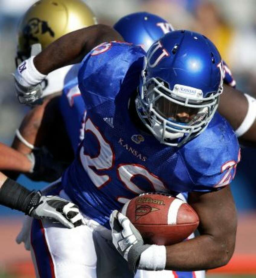 James Sims, Kansas, 28 carries, 115 yards, 1 TD (file photo) (Orlin Wagner / Associated Press)