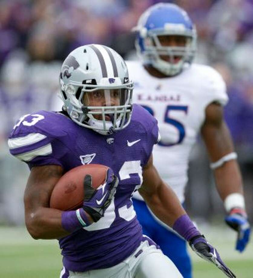 John Hubert, Kansas State, 10 carries, 101 yards, 4 TDs (Associated Press)