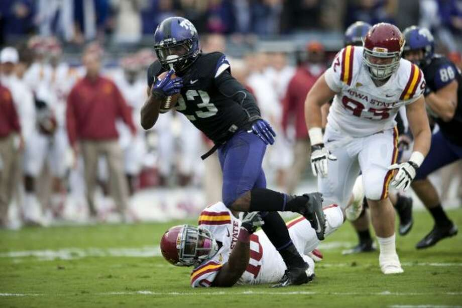 B.J. Catalon, TCU, 13 carries, 86 yards, 0 TDs (Cooper Neill / Getty Images)
