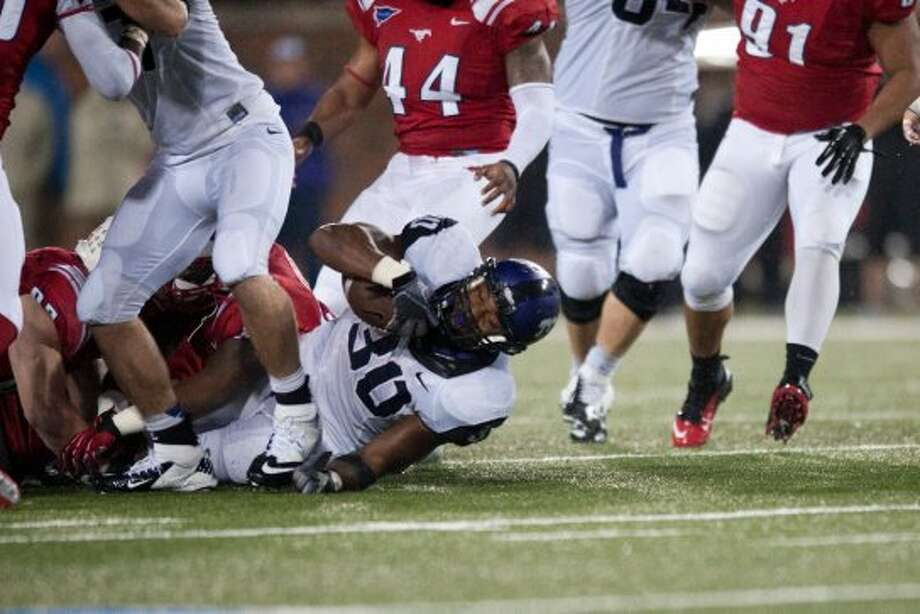 Aundre Dean, TCU, 12 carries, 53 yards, 0 TDs (file photo) (Cooper Neill / Getty Images)