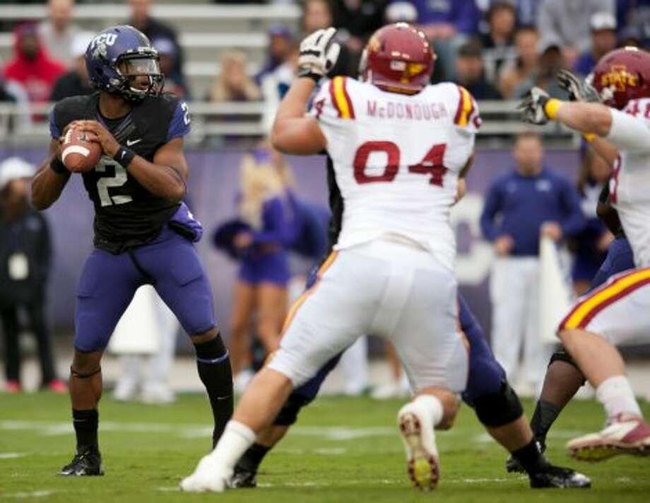 Trevone Boykin, TCU, 23-40-3, 270 yards, 1 TD (Cooper Neill / Getty Images)