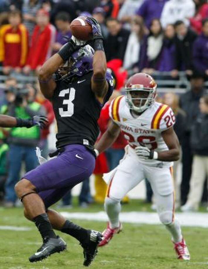 Brandon Carter, TCU, 6 catches, 94 yards, 0 TDs (LM Otero / Associated Press)