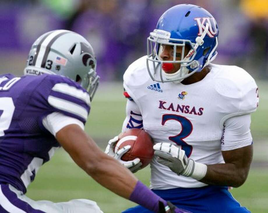 Tony Pierson, Kansas, 6 catches, 63 yards, 1 TD (Orlin Wagner / Associated Press)