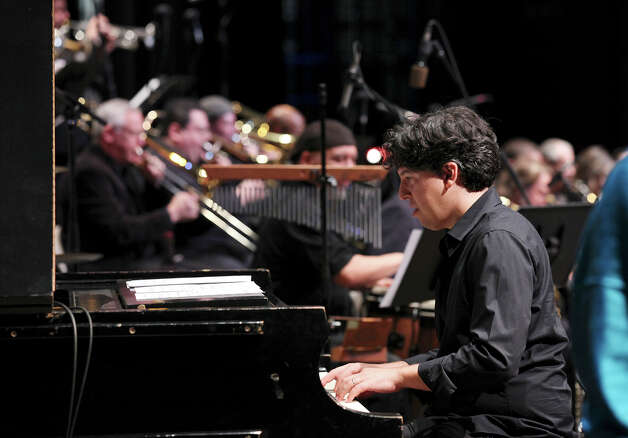 "Aaron Prado's ""The San Antonio Jazz Suite"" was reprisded during Trinity University's KRTU Year of Jazz finale. Photo: Edward A. Ornelas, San Antonio Express-News / © 2012 San Antonio Express-News"