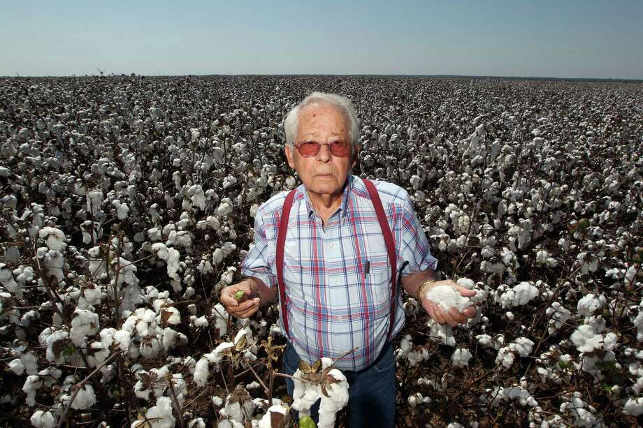 "Phrase: We're living in high cotton.Meaning: Cotton has long been a key crop to the South's economy, so every harvest farmers pray for tall bushes loaded with white fluffy balls in their fields. Tall cotton bushes are easier to pick and yield higher returns. If you're living ""in high cotton,"" it means you're feeling particularly successful or wealthy.Source: Business Insider Photo: James Nielsen / © Houston Chronicle 2012"