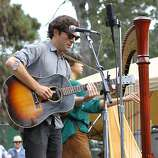 The Barr Brothers perform at the final day of Hardly Strictly Bluegrass in Golden Gate Park on October 7, 2012.