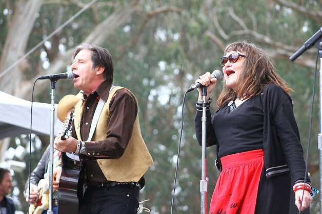 The Knitters perform at the final day of Hardly Strictly Bluegrass in Golden Gate Park on October 7, 2012. Photo: Clint Wirtanen, The Chronicle