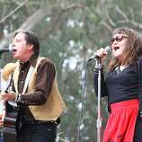 The Knitters perform at the final day of Hardly Strictly Bluegrass in Golden Gate Park on October 7, 2012.