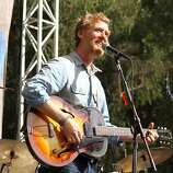 Glen Hansard performs at the final day of Hardly Strictly Bluegrass in Golden Gate Park on October 7, 2012.