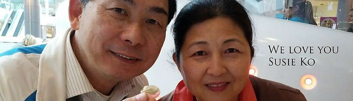 A family photo of Kelvin Ko and his wife Susie Ko.