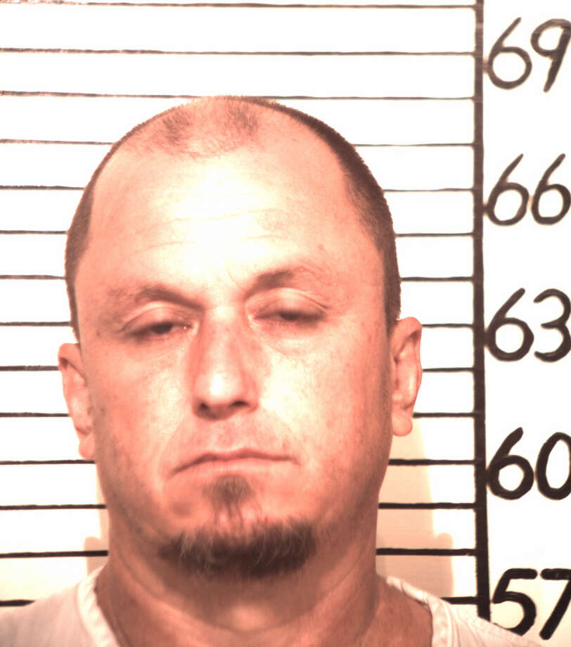 Trey Randall Smith, 42, is accused of fighting with a man who later died in New Braunfels. Photo courtesy of Comal County Sheriff's Office.