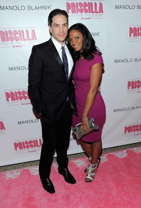 """FILE - OCTOBER 07: Actors Audra McDonald and Will Swenson were married in Croton-on-Hudson, New York. NEW YORK, NY - MARCH 20:  Actors Will Swenson and Audra McDonald attend the after party for the Broadway opening night of """"Priscilla Queen of the Desert The Musical"""" at Pier 60 on March 20, 2011 in New York City.  (Photo by Jemal Countess/Getty Images) Photo: Jemal Countess / 2011 Getty Images"""