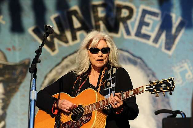 Emmylou Harris and her Red Dirt Boys play the last set of the festival on the Banjo Stage.  Day 3 of the Hardly Strictly Bluegrass festival in Golden Gate Park in San Francisco, CA Sunday October 7th, 2012. Photo: Michael Short, Special To The Chronicle