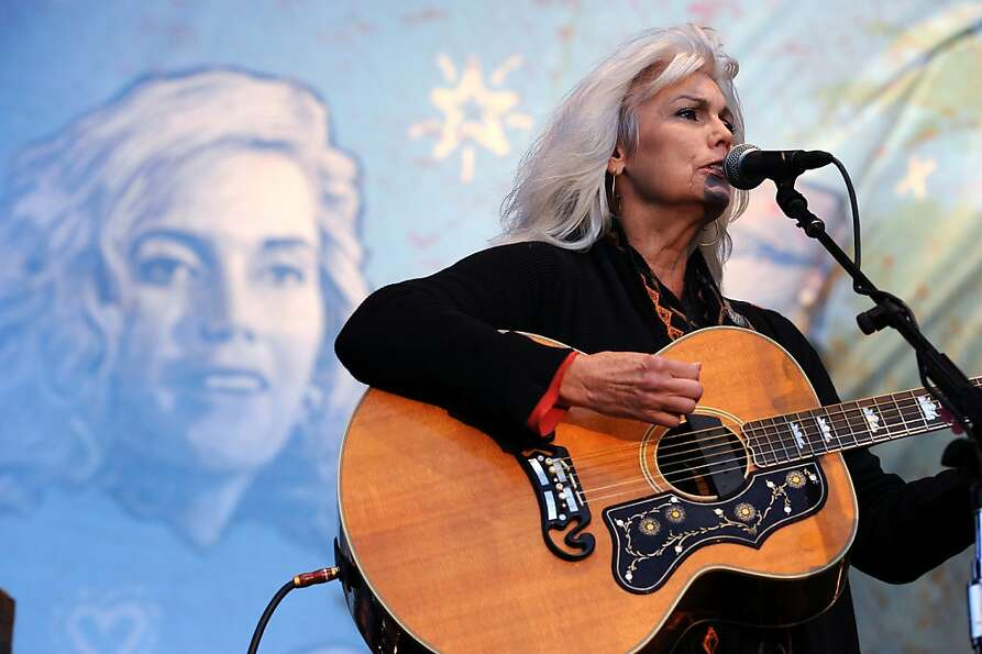 Emmylou Harris and her Red Dirt Boys play the last set of the festival on the Banjo Stage.  Day 3 of