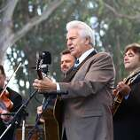 Del McCoury performs during the final day of Hardly Strictly Bluegrass in Golden Gate Park on October 7, 2012.