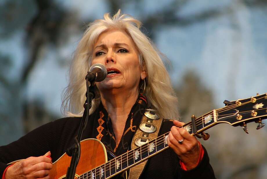 Emmylou Harris performs during the final day of Hardly Strictly Bluegrass in Golden Gate Park on October 7, 2012. Photo: Clint Wirtanen, The Chronicle
