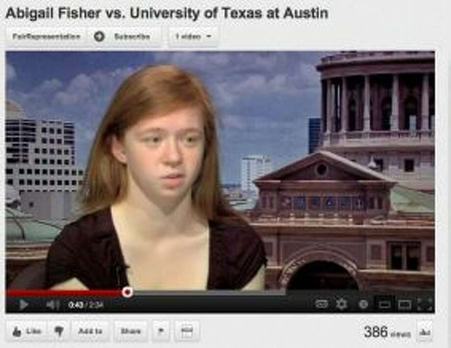 Abigail Fisher. (HC)