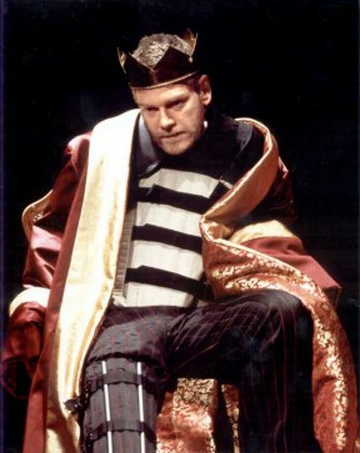 The remains of Richard the III may have finally been found this year -- under a parking lot in Leicester. DNA tests remain. Here actor Kenneth Branagh is shown in this undated file photo performing Shakespeare's Richard III at the Crucible Theatre in Sheffield, England.  (AP)