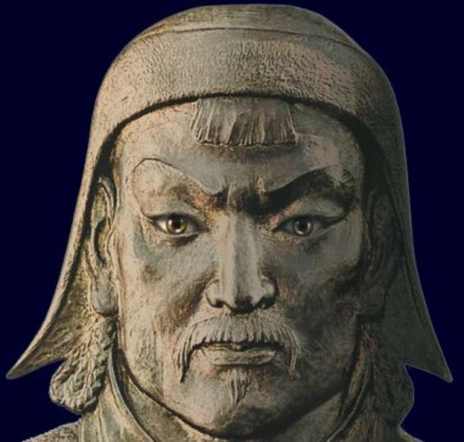 Genghis Khan was so secretive that the legend goes everyone who accompanied the body to the burial site was executed so his resting place could not be revealed.