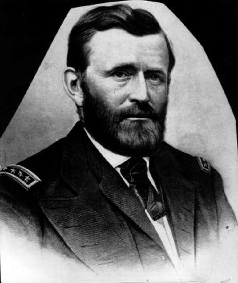 Ulysses S. Grant. He's in a tomb ... somewhere. (AP)