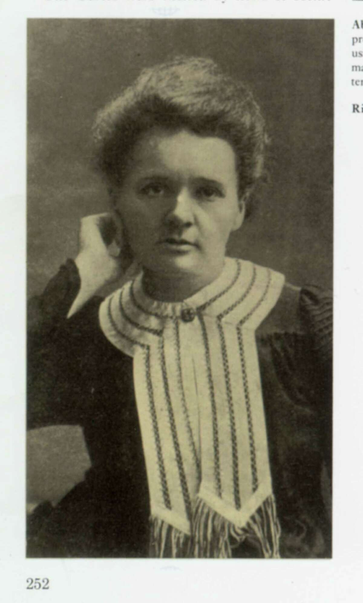 Marie Sklowdowska Curie, 1867-1934 Curie was a Polish-born chemist and pioneer in the study of radioactivity. She discovered radium and polonium. With her husband, Pierre, she won two Nobel Prizes. Her daughter, Irene Joliot-Curie, was also a renowned chemist and herself won a Nobel.