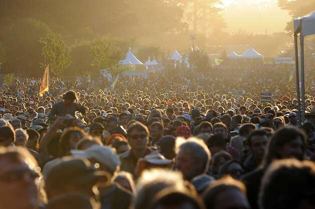 Hardly Strictly Bluegrass also makes its return to Golden Gate Park, this time on Oct. 4-6. Photo: Michael Short, Special To The Chronicle