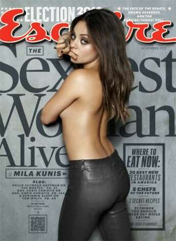 Esquire: Mila Kunis is the 'Sexiest Woman Alive' (Cliff Watts / Esquire)