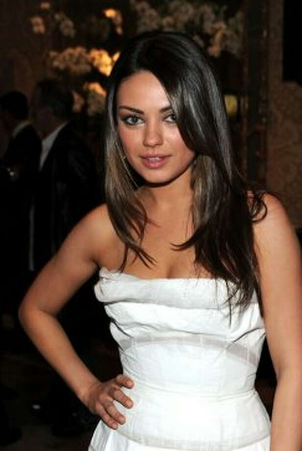 Actress Mila Kunis attends the Eleventh Annual AFI Awards reception at the Four Seasons Hotel on January 14, 2011 in Los Angeles. (Getty Images for AFI)