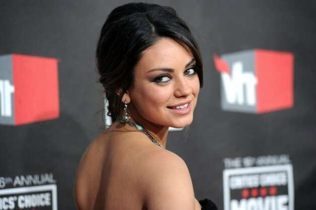 Actress Mila Kunis arrives at the 16th annual Critics' Choice Movie Awards at the Hollywood Palladium on January 14, 2011 in Los Angeles. (Getty Images)