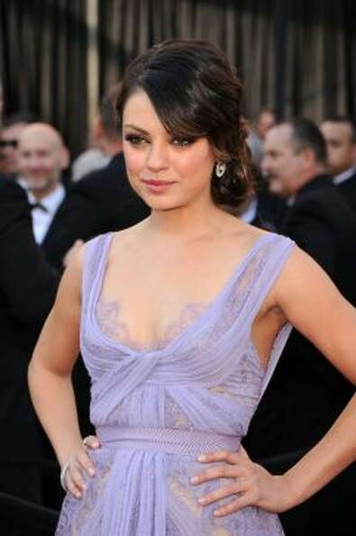 Actress Mila Kunis arrives at the 83rd Annual Academy Awards held at the Kodak Theatre on February 2