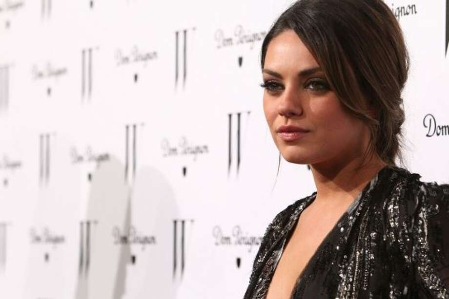 Actress Mila Kunis arrives at W Magazine's Celebration of The Best Performances Issue and The Golden Globes held at at Chateau Marmont on January 14, 2011 in Los Angeles. (2011 Getty Images)