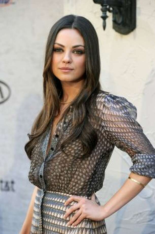 "Actress Mila Kunis arrives at Spike TV's 5th annual 2011 ""Guys Choice"" Awards at Sony Pictures Studios on June 4, 2011 in Culver City, California. (Getty Images)"