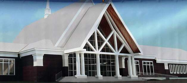 A rendering of the new Black Rock Congregational Church, 3685 Black Rock Turnpike. Photo: Contributed Photo / Fairfield Citizen
