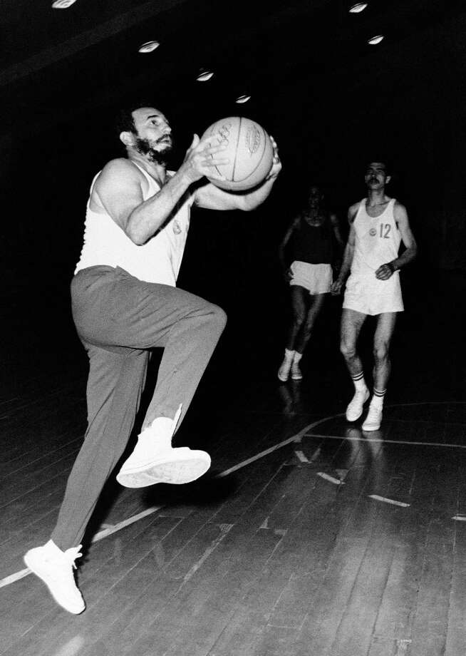 Years later Fidel plays the uniquely American game in Bulgaria in 1972. Photo: ASSOCIATED PRESS / AP1972